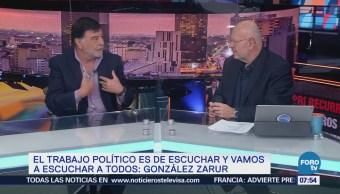 Mariano González Zarur: PRI logra cohesión en torno a Meade
