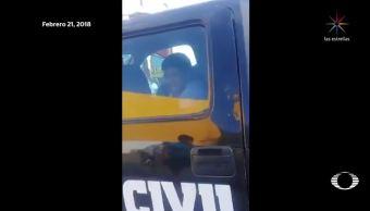 detencion menor monterrey parte protocolo autoridades