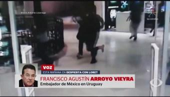 Mexicanos reciben prisión preventiva por robo en Uruguay