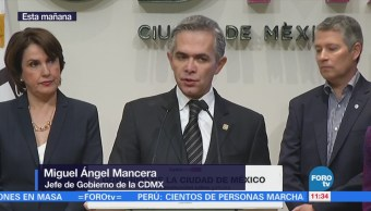 Miguel Ángel Mancera Dice Narcomenudeo Exclusivo Tláhuac