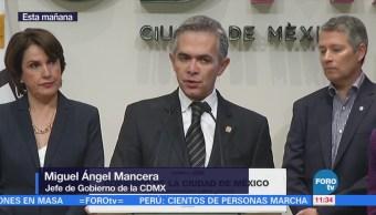 Miguel Ángel Mancera Dice Narcomenudeo Exclusivo Tláhuac