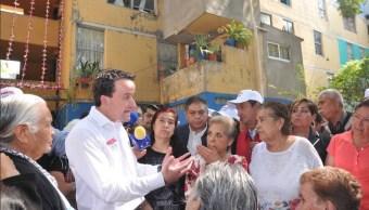Mikel Arriola plantea recuperación de la Unidad El Rosario en Azcapotzalco