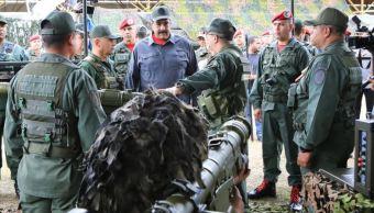 Maduro lidera ejercicios militares ante supuestos llamados de golpe de Estado
