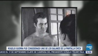 Muere actor Rogelio Guerra