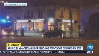 Muere yihadista que ordenó los atentados de París en 2015