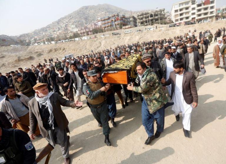 Récord de civiles afganos muertos o heridos por los atentados