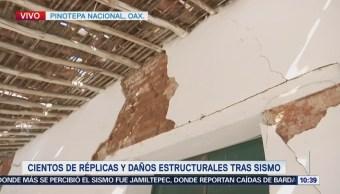 Negocios Pinotepa Nacional Abren Miedo Réplicas Sismo