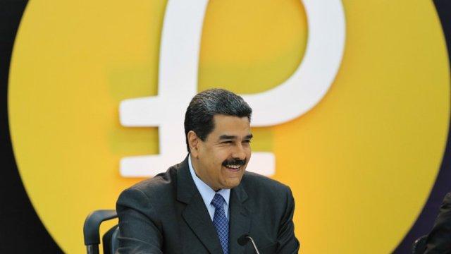 Maduro comienza preventa Petro criptomoneda Venezuela