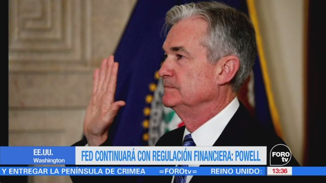 Jerome Powell Toma Juramento Presidente Fed
