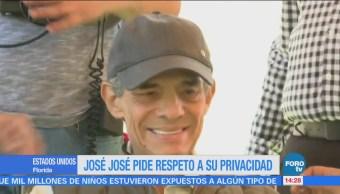José José está internado en el hospital Coral Glabes de Florida
