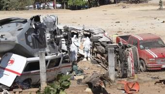 Sedena asume responsabilidad por accidente de helicóptero en Oaxaca