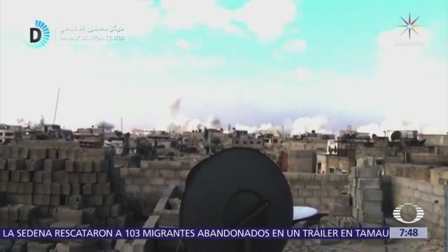 Ofensiva en Guta, la más intensa de Bashar al Assad contra rebeldes sirios