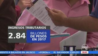 Padrón de contribuyentes aumenta al cierre de 2017: Secretaría de Hacienda