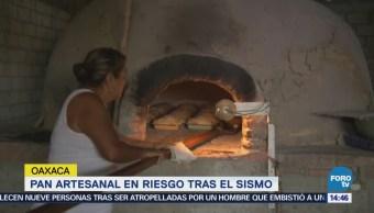 Pan artesanal en riesgo tras el sismo en Oaxaca