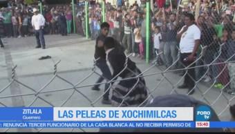 Peleas de Xochimilcas en Zitlala, Guerrero