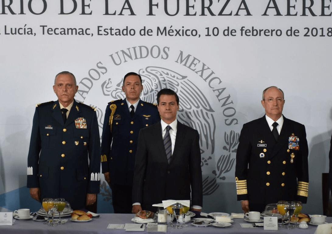 Tenemos la mejor Fuerza Aérea Mexicana de nuestra historia: Peña