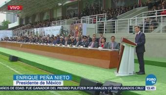 Peña Nieto Reitera Ejército Garante Paz Seguridad Presidente Enrique
