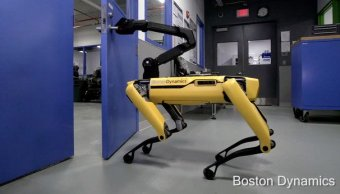 Boston Dynamics presenta SpotMini perro robot capaz abrir puertas