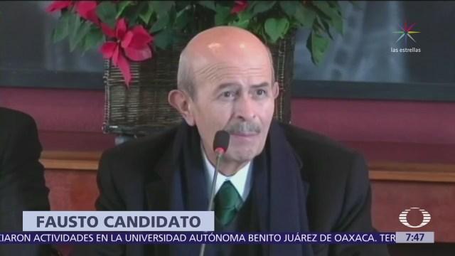 PES y PT postulan a Fausto Vallejo