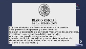 Pgr Crea Unidad Investigación Delitos Contra Migrantes
