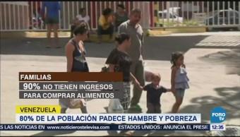 Población en Venezuela está literalmente muriendo de hambre