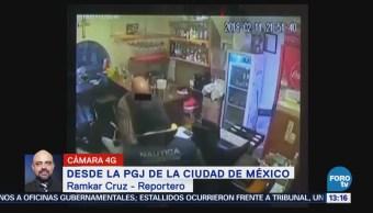 Policía detiene a presunto asaltante de un restaurante de la CDMX