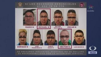 Policías arrestados por nexos con bandas criminales