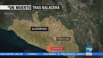 Policías repelen ataque de hombres armados en Acapulco