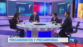 Precandidatos y campañas de las elecciones en México