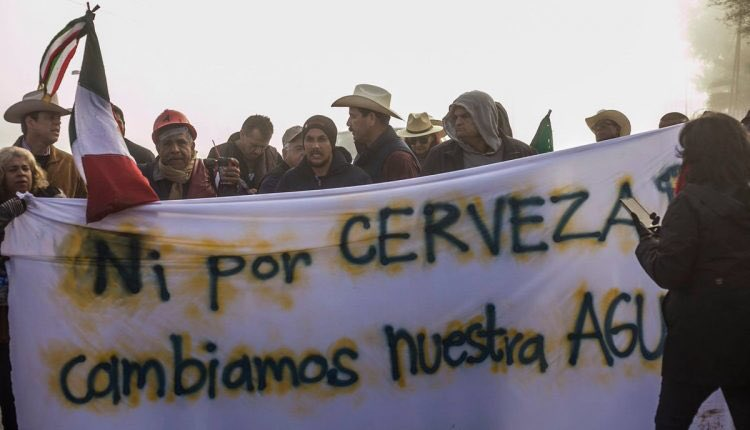 planta cervecera genera conflicto mexicali desabasto agua
