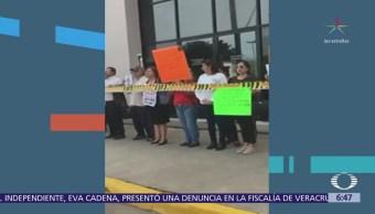 Protestan en Sinaloa los familiares el periodista Javier Valdéz, exigen justicia