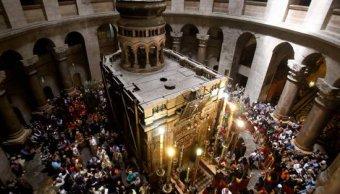 Reabren Santo Sepulcro Jerusalén tres días protestas