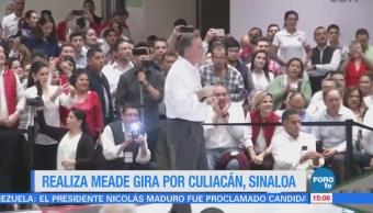 Realiza Meade Gira Culiacán Sinaloa