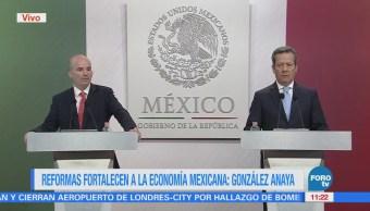 Reformas estructurales fortalecen la economía mexicana