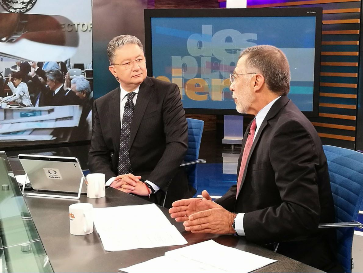 El periodista René Delgado habla en Despierta con Loret sobre el conflicto entre el TEPJF y el Consejo Electoral.
