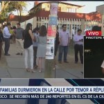 Réplicas del sismo de magnitud 7.2 continúan en Oaxaca