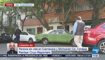 Reportan hombre sin vida en la colonia Condesa, CDMX