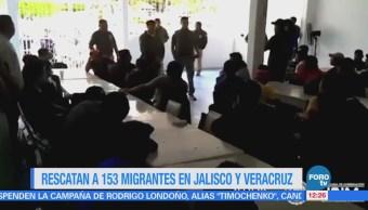Rescatan 153 Migrantes Centroamericanos Instituto Nacional De Migración