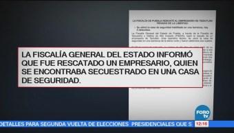 Rescatan Empresario Secuestrado Teziutlán, Puebla