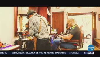 Retratos de México: El trabajo en una barbería