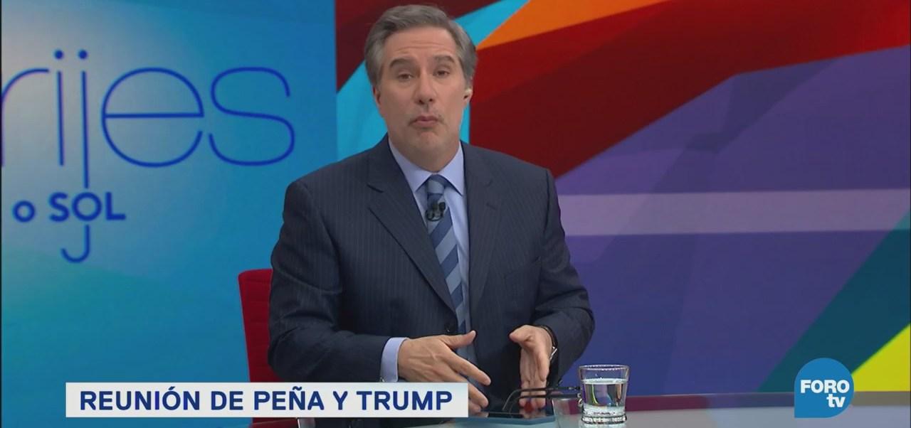 Reunión Peña Trump