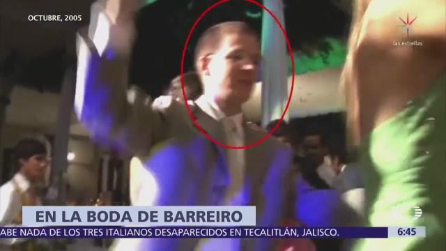 Ricardo Anaya acudió a la boda de Manuel Barreiro, en 2005