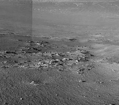 Rover Opportunity encuentra misteriosas franjas en Marte