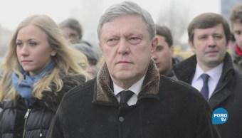 Rusia acusa a EU de querer interferir en su elección