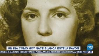 Efeméride En Una Hora: Blanca Estela Pavón