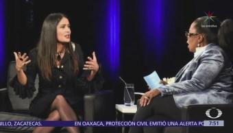 Salma Hayek Weinstein Amenazó Romperle Rodillas