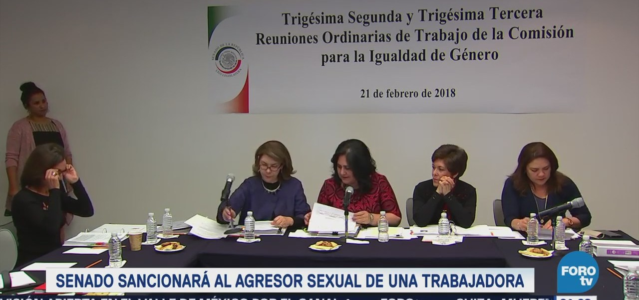 Senado sancionará a agresor de acoso sexual