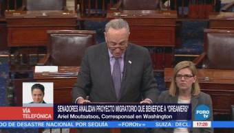 Senadores Analizan Proyecto Beneficie Dreamers