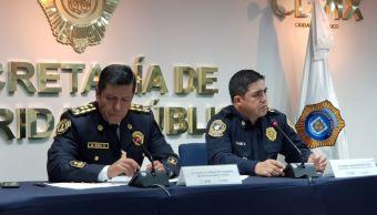 Detienen a presuntos responsables de robo a tiendas departamentales en CDMX