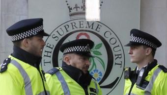 Corte Suprema británica responsabiliza a la Policía por no resolver crímenes